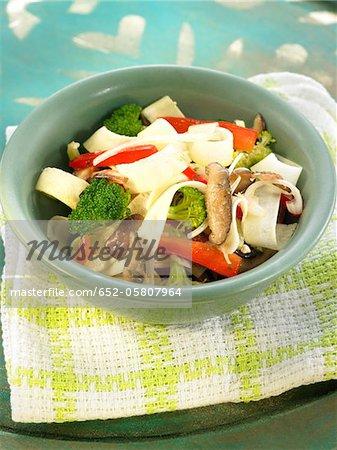 Salade de légume cru