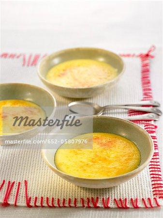 Dessert de crème au citron