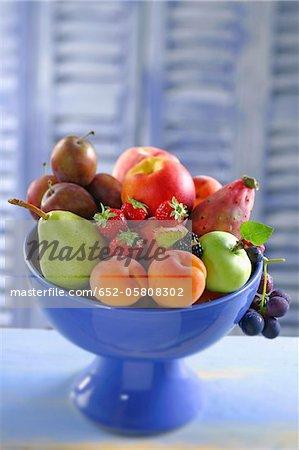 Bol de fruits frais
