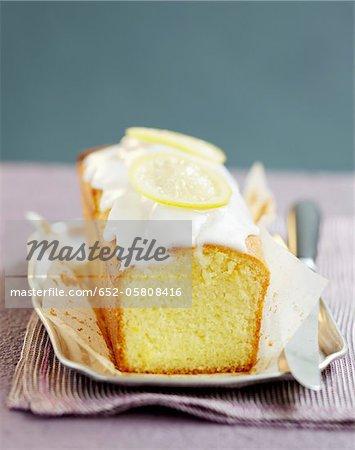 Gâteau de pain au citron