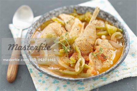 Provençal-style chicken