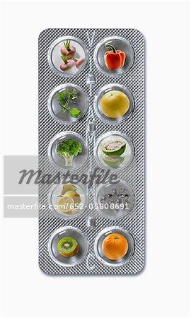 Tablet Produkte mit einem hohen Vitamin-c