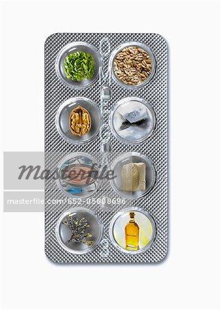 Tablet Produkte mit einem hohen Omega-3
