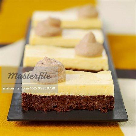 Gâteau au chocolat et citron