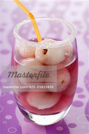 Cocktail de litchi