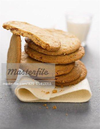 Biscuits sablés aux pacanes