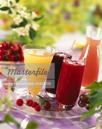 Cocktails de fruits