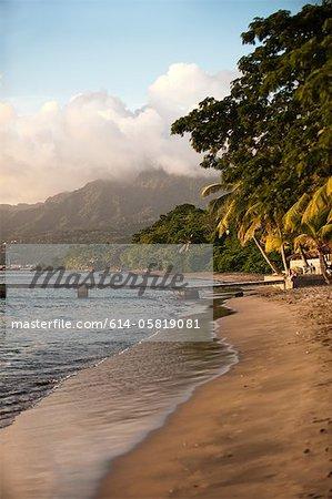 Piquard Beach, Portsmouth, Dominica, Lesser Antilles
