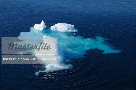 Eis Floe, Grönlandsee, Nordpolarmeer, Arktis