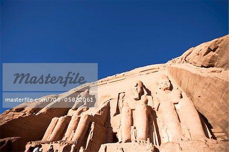 The Great Temple, Abu Simbel, Nubia, Egypt