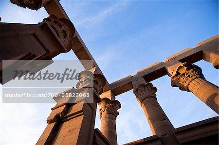 Row of Columns, Temple of Edfu, Edfu, Egypt