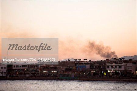Smoke and City, Dahab, Egypt