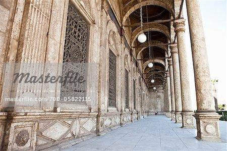 Mosquée de Muhammed Ali, citadelle de Saladin, le Caire, Egypte
