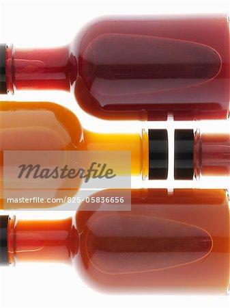 Assorted bottles of vinegar