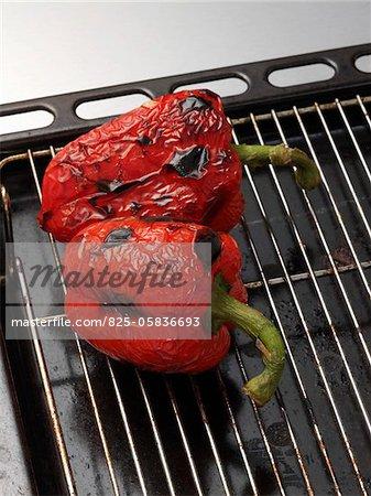 Paprika im Ofen gegrillt