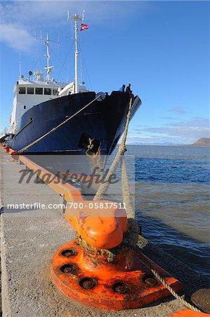 Expédition navire, Longyearbyen, Svalbard, Spitzberg, Norvège
