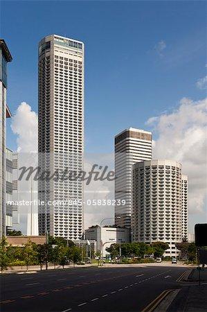 L'hôtel de Raffles City, un bureau et un complexe commercial a été conçu par Ieoh Ming Pei et architectes 61. Il a ouvert en 1986. Architecte: Ieoh Ming Pei et architectes 61