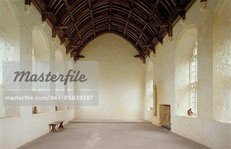 Abbaye de Cleeve. Le réfectoire.