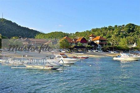 Baie de l'Indonésie, Bali, Padang