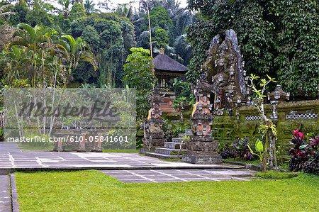 Temple de Gunung Kawi Indonésie, Bali,