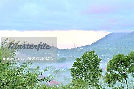 Montagnes de Bali, en Indonésie, de Bedugul