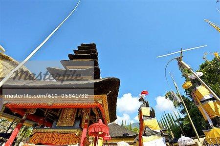 Indonesia, Bali, temple at lake Bratan