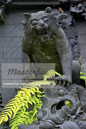 Indonesia, Bali, Bedugul, Statue