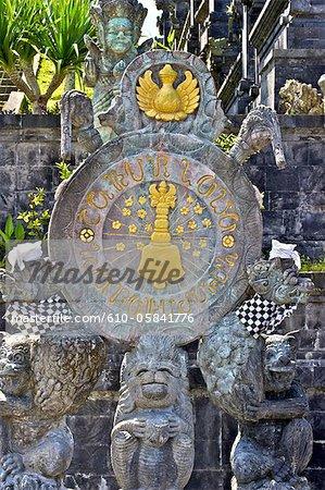 Indonesia, Bali, Besakih temple, statue