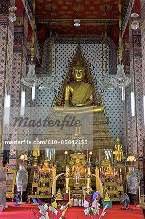 Thailand, Bangkok, Wat Arun, monastery