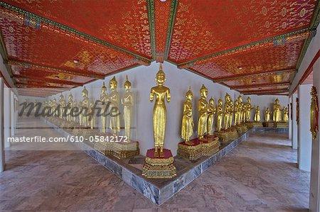 Thaïlande, galerie de Bangkok, le Wat Pho,