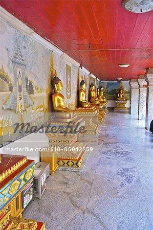 Thaïlande, Chiang Mai, wat phrathat doi suthep, Bouddhas