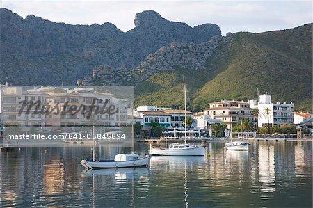 Découvre sur le port, Port de Pollenca, Majorque, îles Baléares, Espagne, Méditerranée, Europe