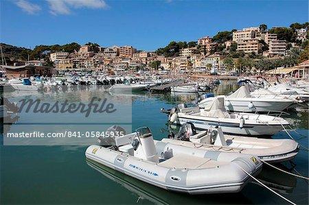 Port de Soller, Mallorca, Balearic Islands, Spain, Mediterranean, Europe