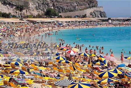 Playa de Tauro, Gran Canaria, Canary îles, Espagne, Atlantique, Europe