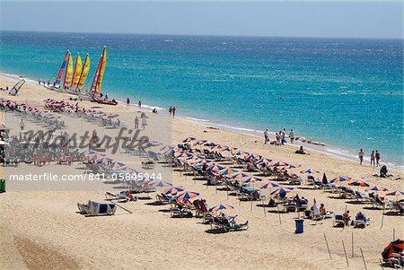 Playa de Jandia, Fuerteventura, Canaries Iles Espagne, Atlantique, Europe