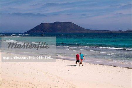 Playas de Corralejo, Fuerteventura, Canaries Iles Espagne, Atlantique, Europe