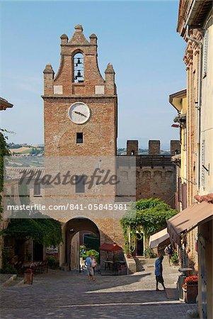 Gradara, vieille ville, de la côte Adriatique, Emilie-Romagne, Italie, Europe