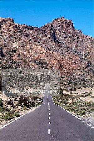 Las Canadas, Parque Nacional del Teide, patrimoine mondial de l'UNESCO, Tenerife, îles Canaries, Espagne, Europe