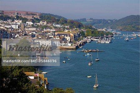 Dart River in Dartmouth, Devon, England, Vereinigtes Königreich, Europa