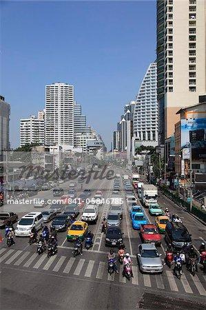 Sukhumvit, un quartier huppé, Bangkok, Thaïlande, Asie du sud-est, Asie