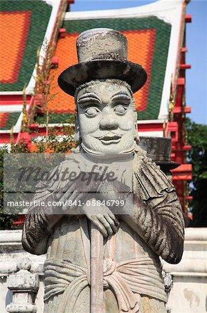 Wat Pho (Wat Po) (Wat Phra Chetuphon), le plus vieux temple de la ville, Rattanakosin (Ratanakosin), Bangkok, Thaïlande, Asie du sud-est, Asie
