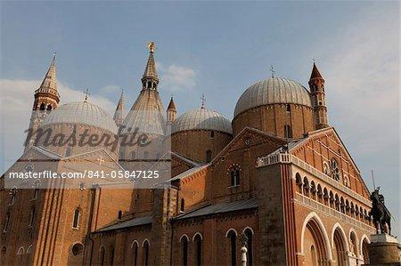 La basilique pontificale de Saint Antoine de Padoue, Padoue, Vénétie, Italie, Europe