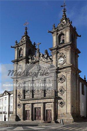 The 17th century Igreja de Santa Cruz (Holy Cross Church), Braga, Minho, Portugal, Europe