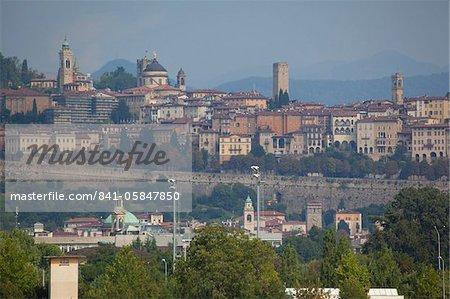 Skyline, Bergame, Lombardie, Italie, Europe