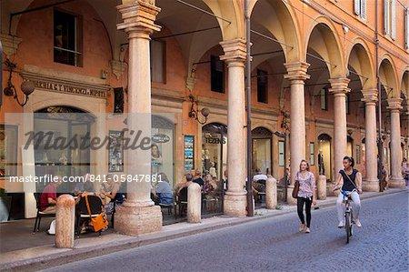 Arcades, Modène, Emilia Romagna, Italie, Europe