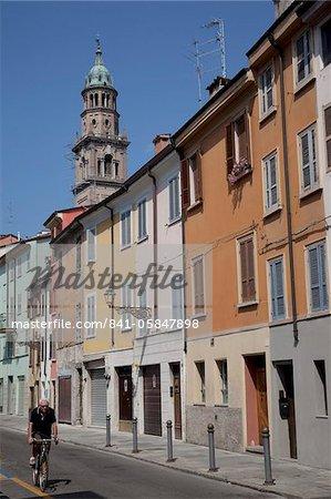 Architecture colorée, Parma, Emilia Romagna, Italie, Europe