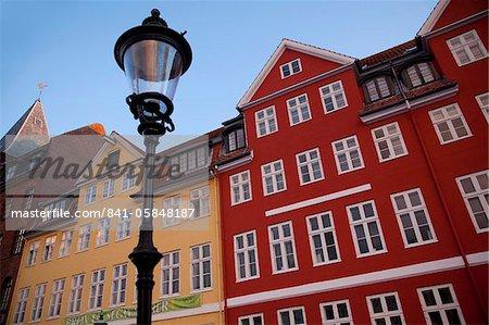 Architecture colorée, Nyhavn, Copenhague, Danemark, Scandinavie, Europe