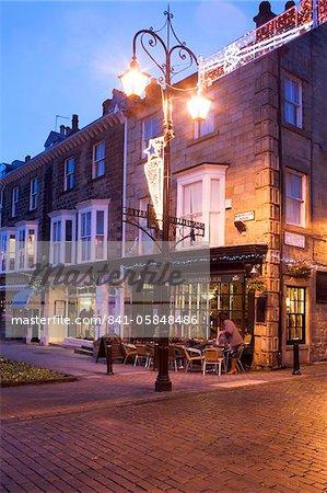 Montpellier Quarter at dusk, Harrogate, North Yorkshire, Yorkshire, England, United Kingdom, Europe