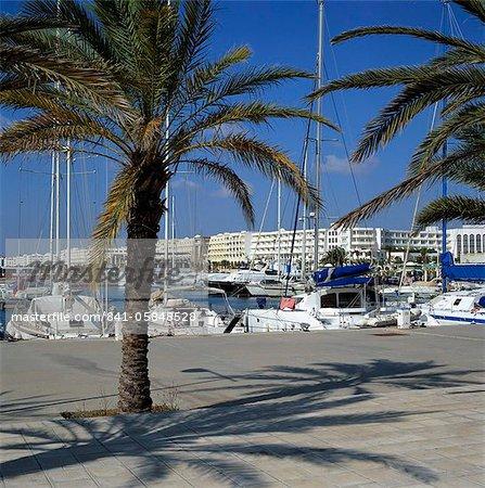 Le port de plaisance, Yasmine Hammamet, Cap Bon, Tunisie, Afrique du Nord, Afrique