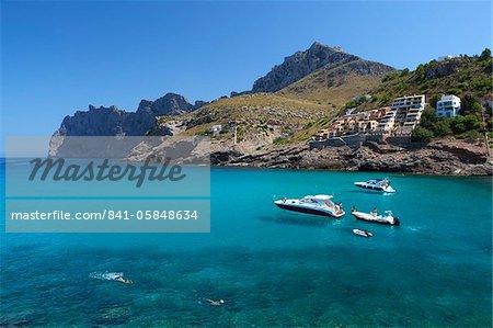 Cala San Vincente (Cala Sant Vicenc), Majorque (Majorque), îles Baléares, Espagne, Méditerranée, Europe